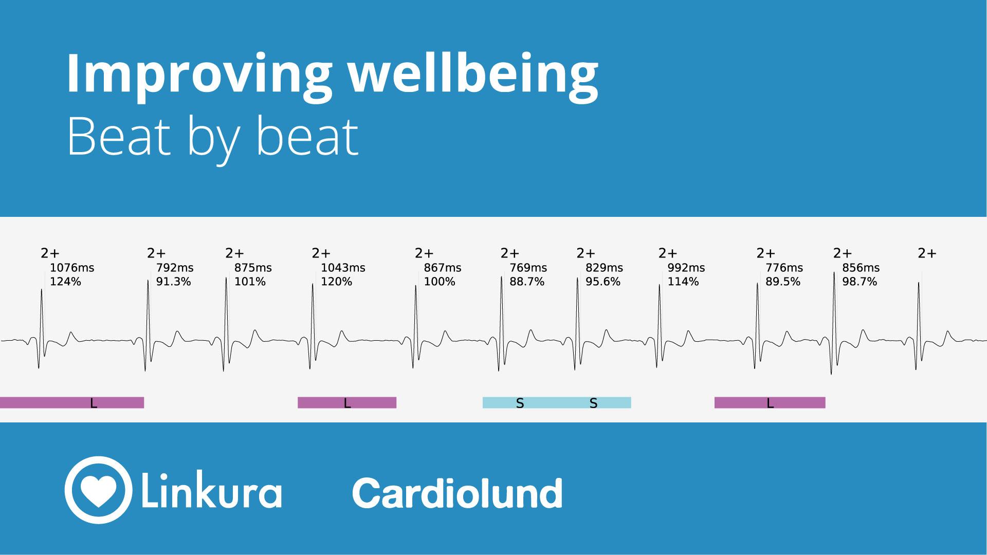 Banbrytande resultat från Linkuras EKG-mätare