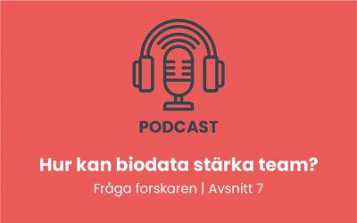 Hur kan biodata stärka team?
