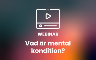 Vad är mental kondition?