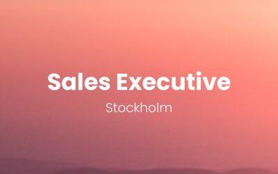 Sales Executive – Stockholm