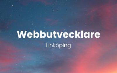 Webbutvecklare – Linköping